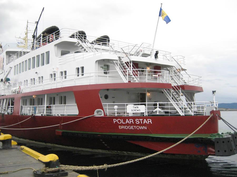 Polar Star Docked In Ushuia