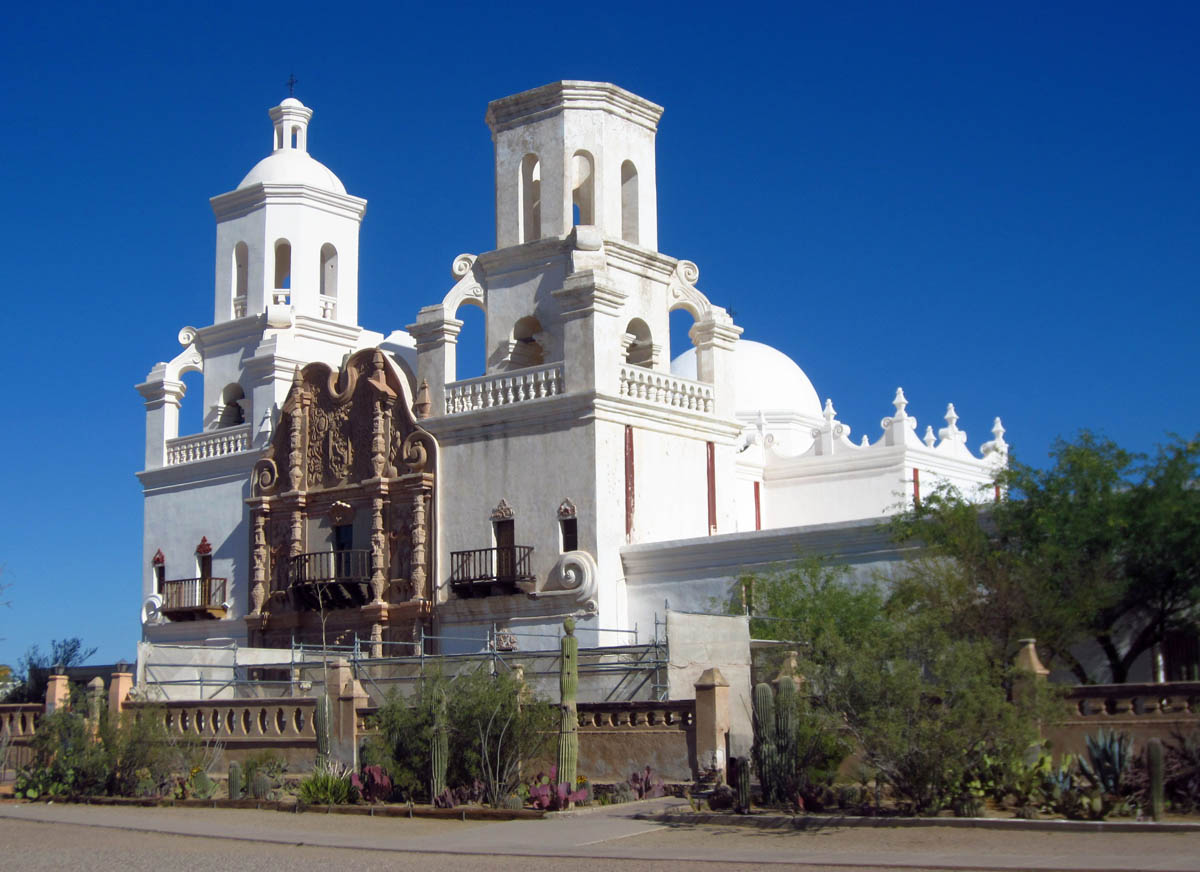 Stunningly beautiful San Xavier Mission