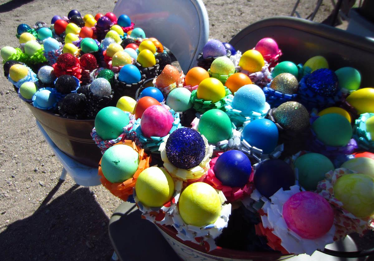 Confetti eggs...