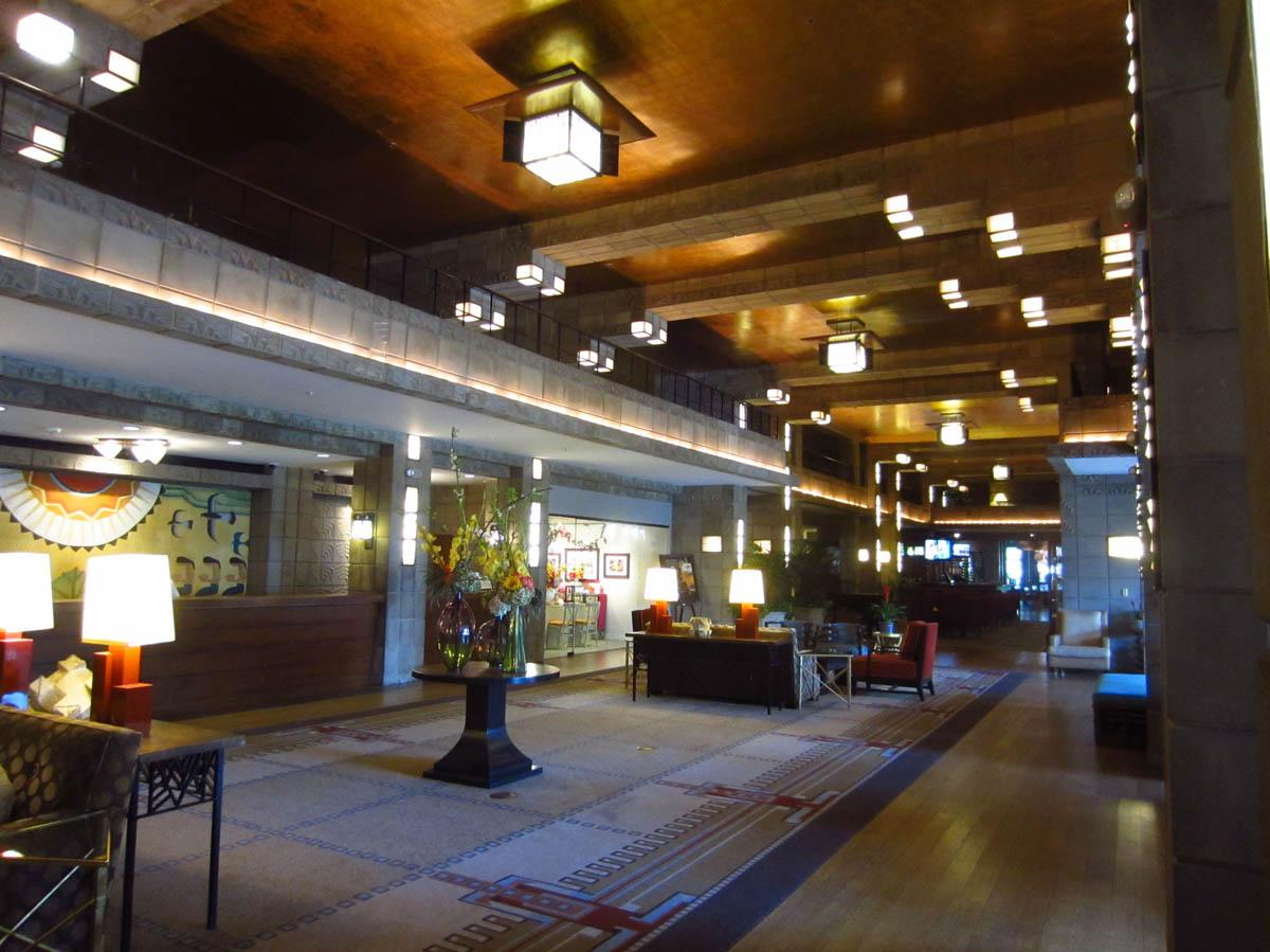 Lobby of Arizona Biltmore Hotel