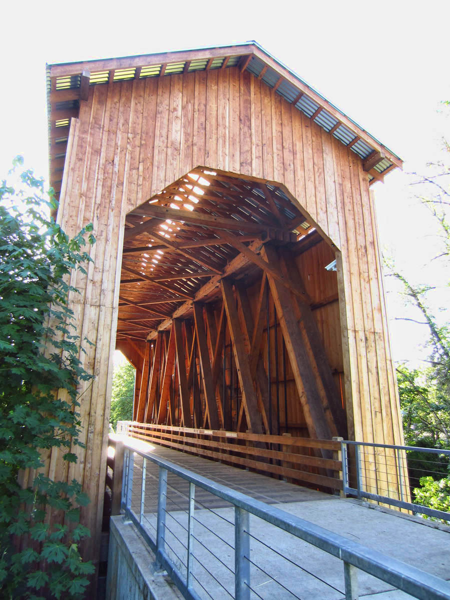 Chambers Bridge, built 1925, restored in 2011.