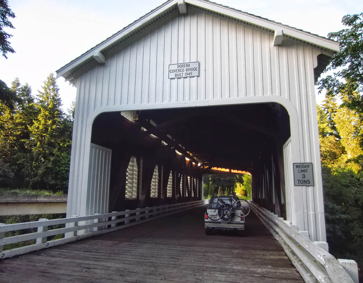 Dorena Bridge, built 1949