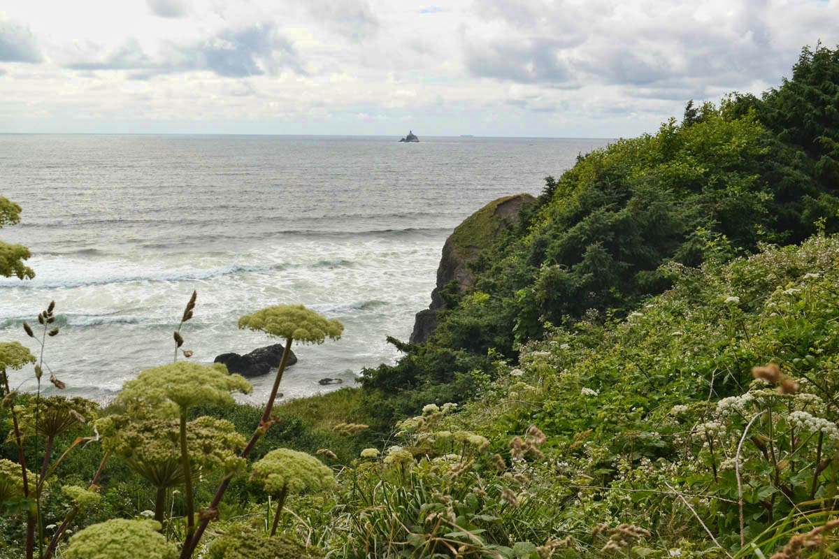 Tillamook Lighthouse from Ecola State Park