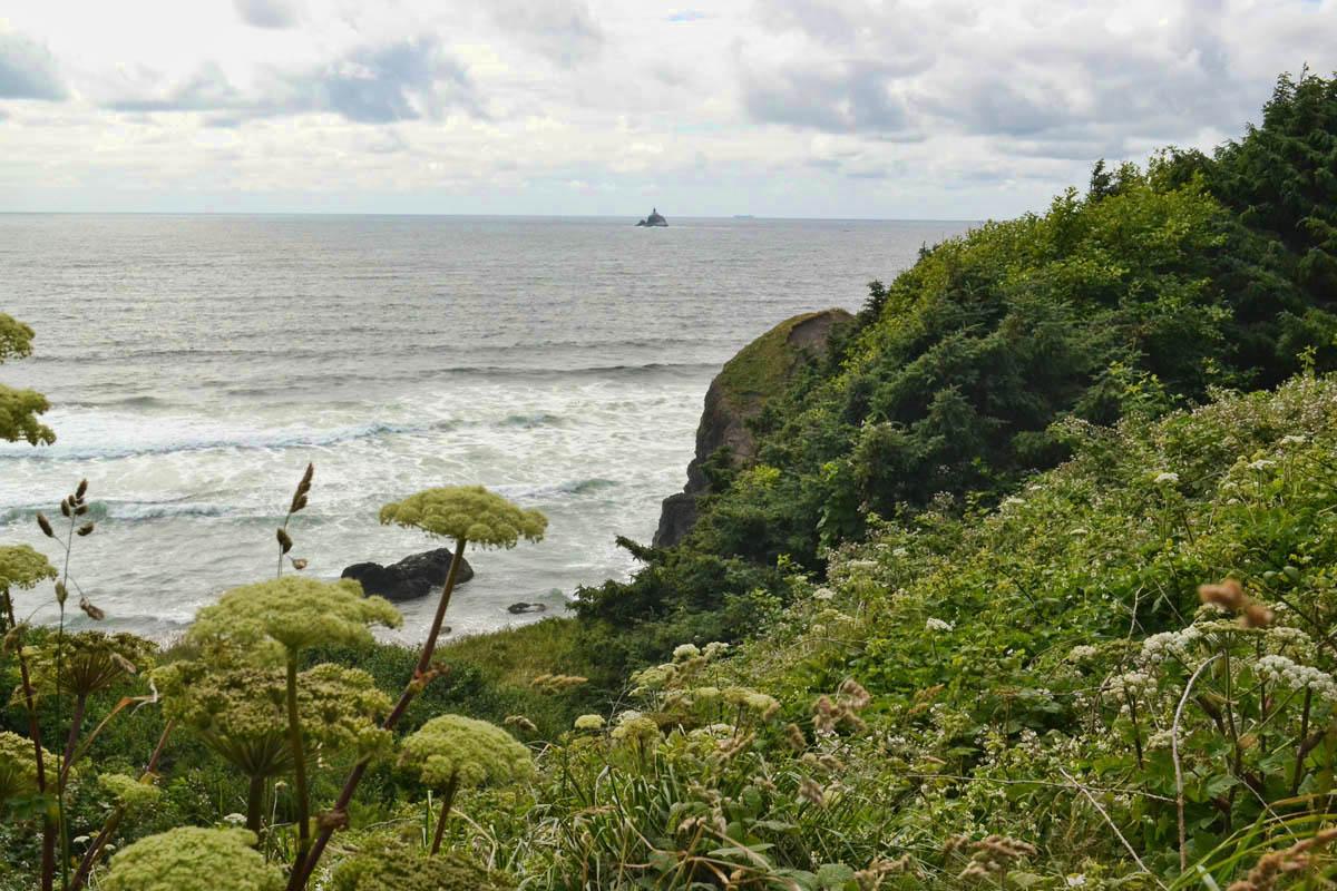 Tillamook Lighthouse from Ecola State Park