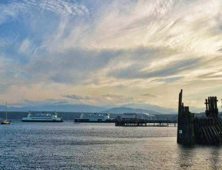 Ferries to Whidbey Island