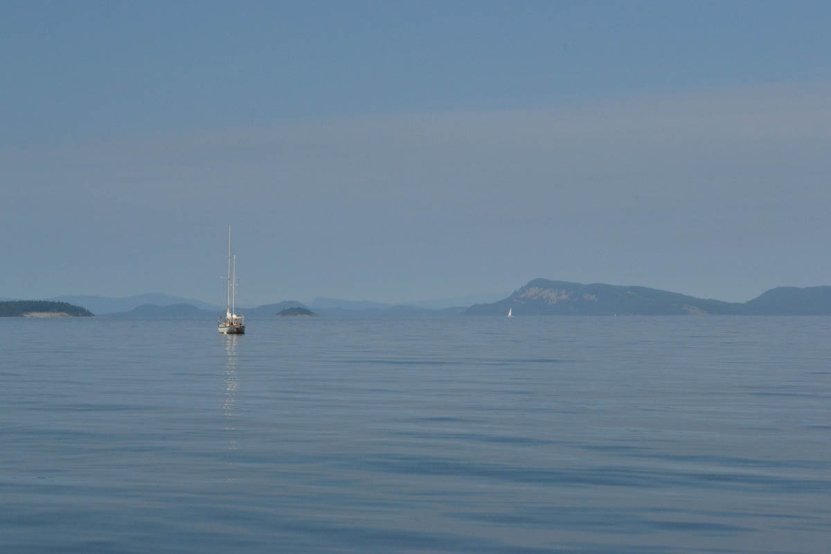 Perfectly calm seas