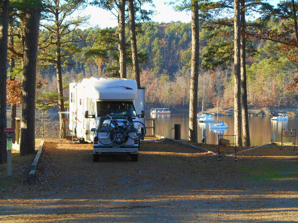 Thanksgiving Day, Lake Ouachita, AR, Nov '13