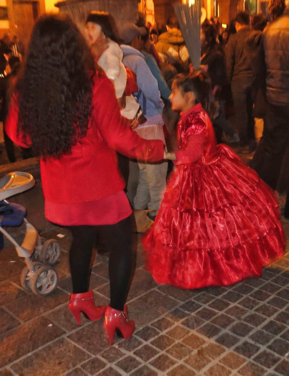 Mother daughter dance.