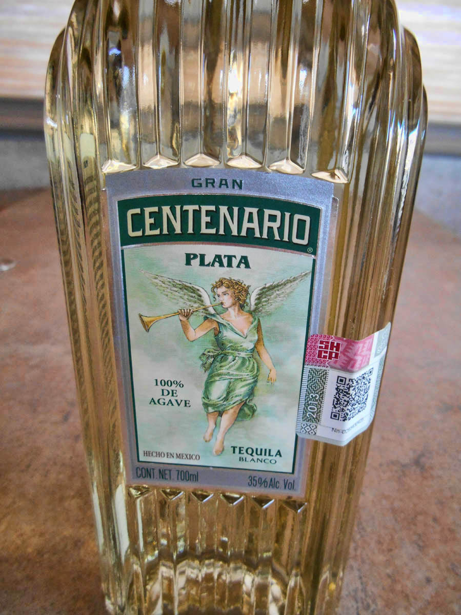 I select my tequila just like I select my fine wine...whichever one has the prettiest label.