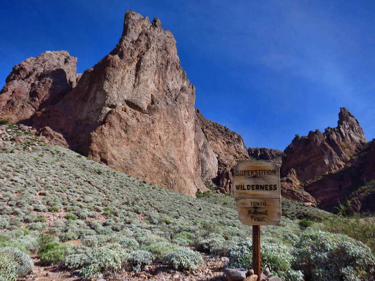 Superstition Wilderness, Tonto National Forest