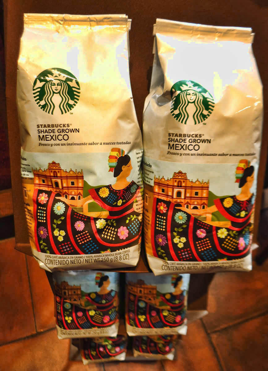 ...in exchange for featuring Mexican coffee!