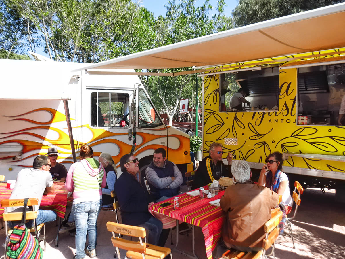 Food trucks have arrived in San Miguel.  Weekend arts festival in Parque Benito Juarez.