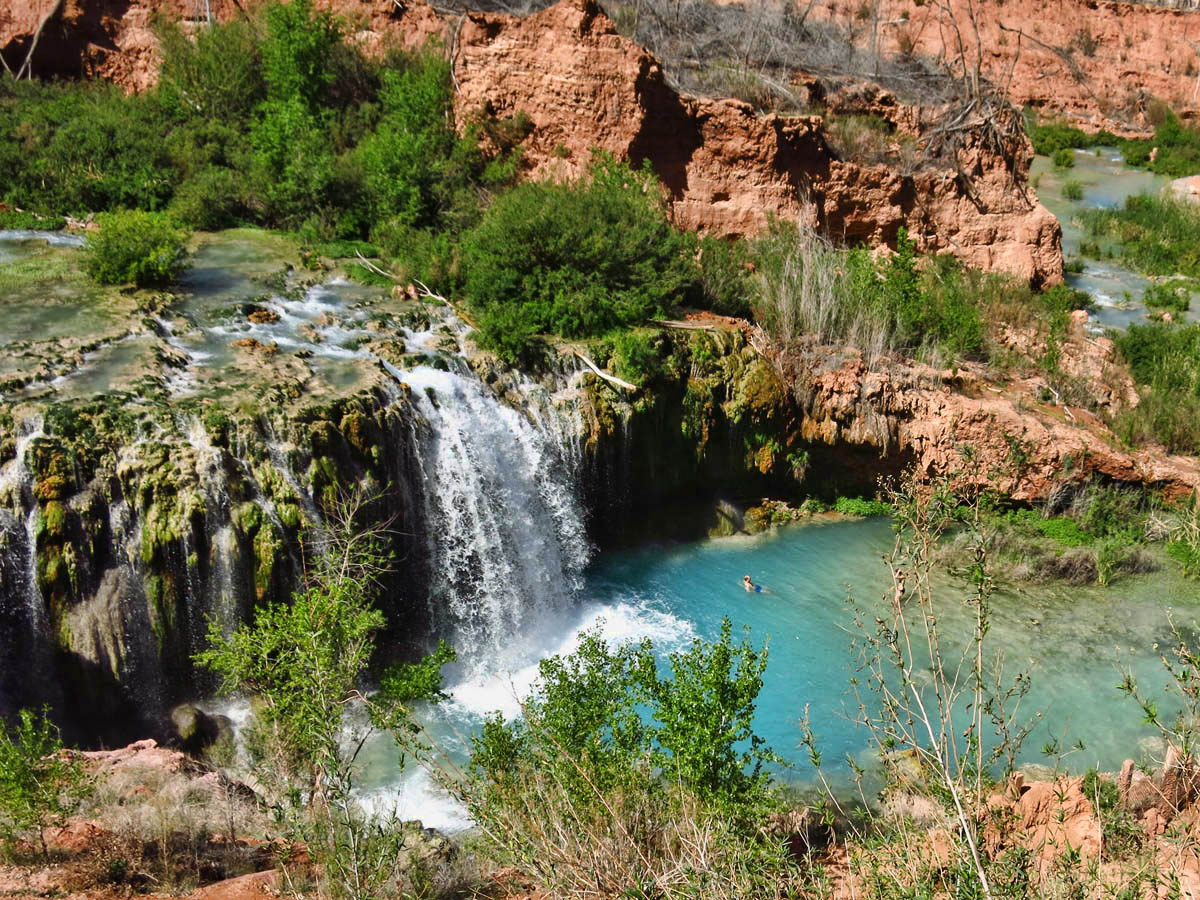 Havasupai The Falls Take To The Highway