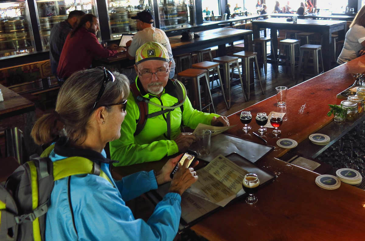 Gayle is the chronologist of beer flights.