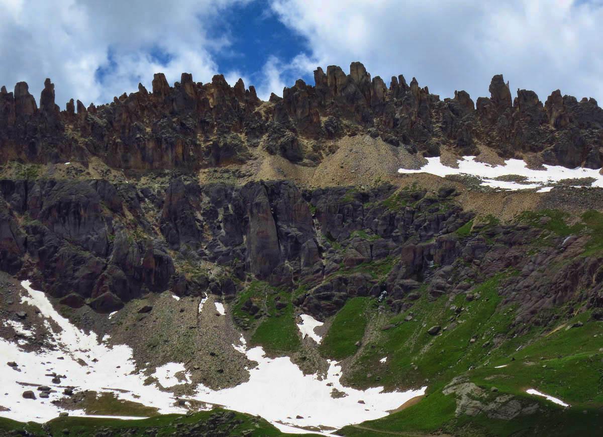 Saint Sophia's Ridge looks like beautiful sculpture...