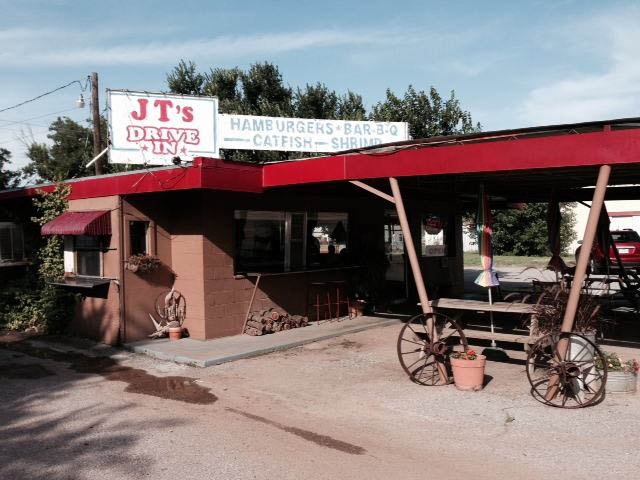 JT's Diner.  Blink and you miss it.