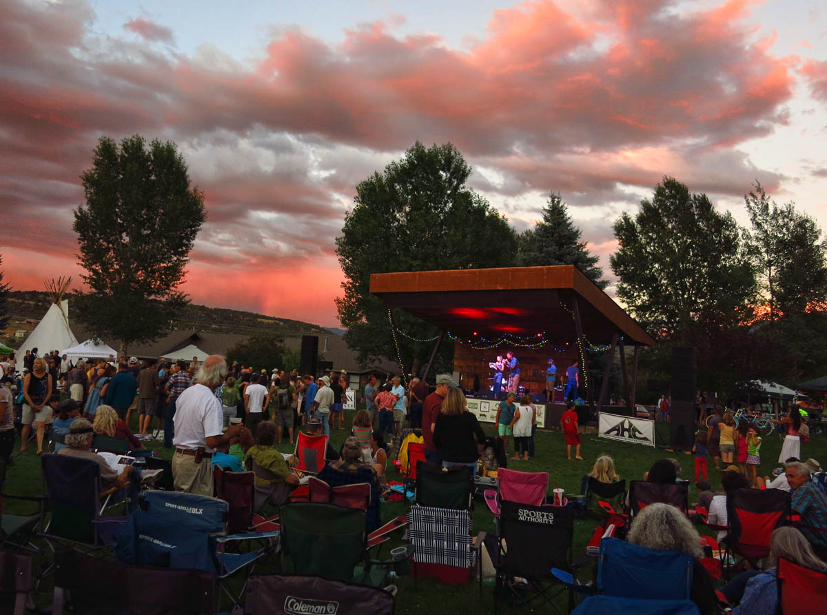Thursday Nite Free Concerts in Ridgway were great entertainment.