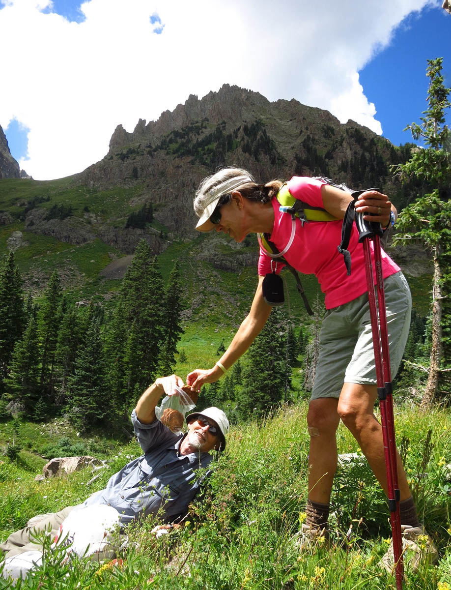 """Once to Upper Basin, Chris brings out the """"Summit Cookies!"""""""