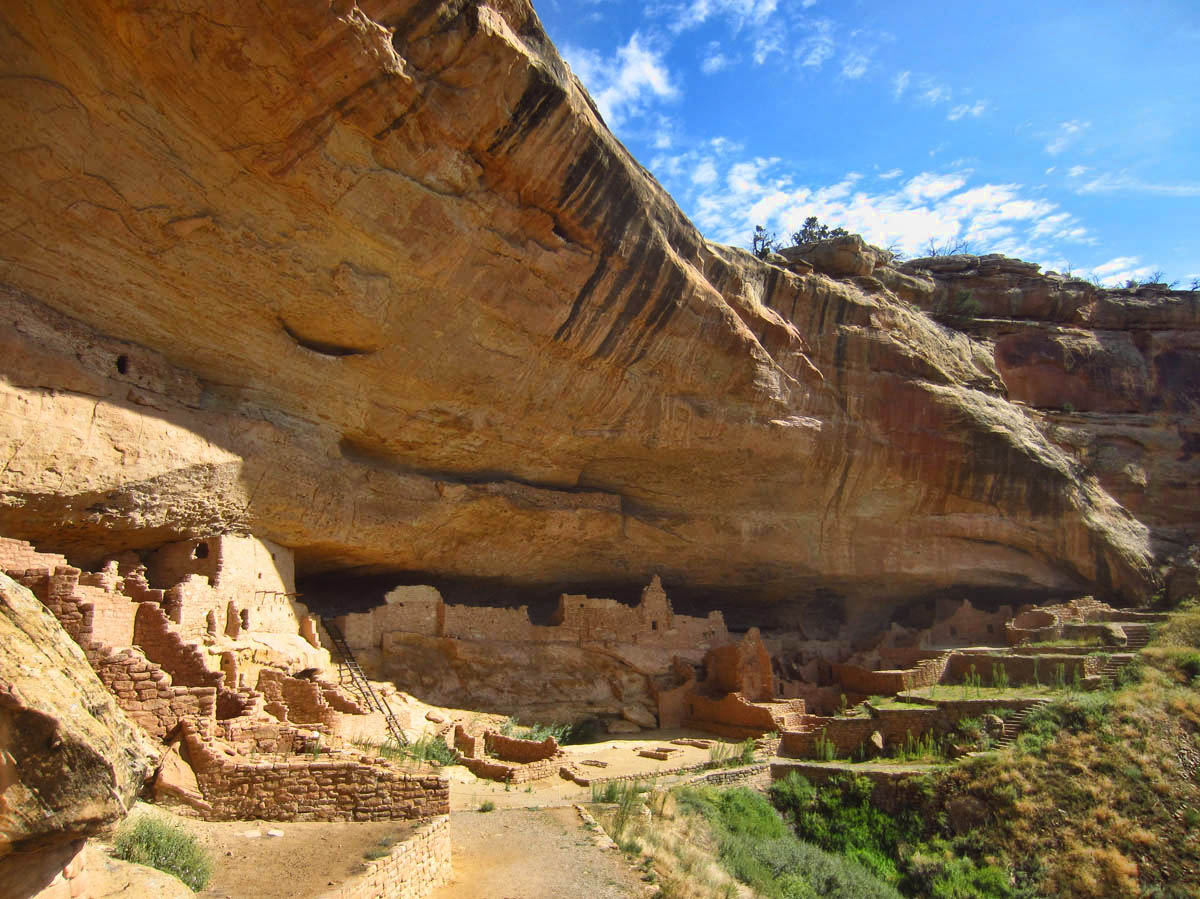 Long House, 2nd largest cliff dwelling in Mesa Verde NP.