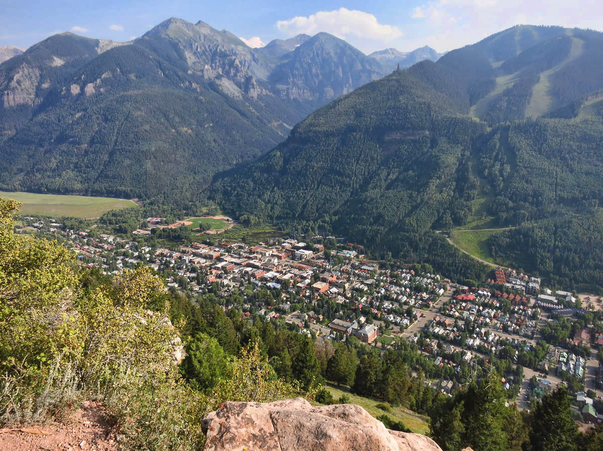 """Trail is nice, but kinda """"ho-hum"""" after vertical Ouray."""
