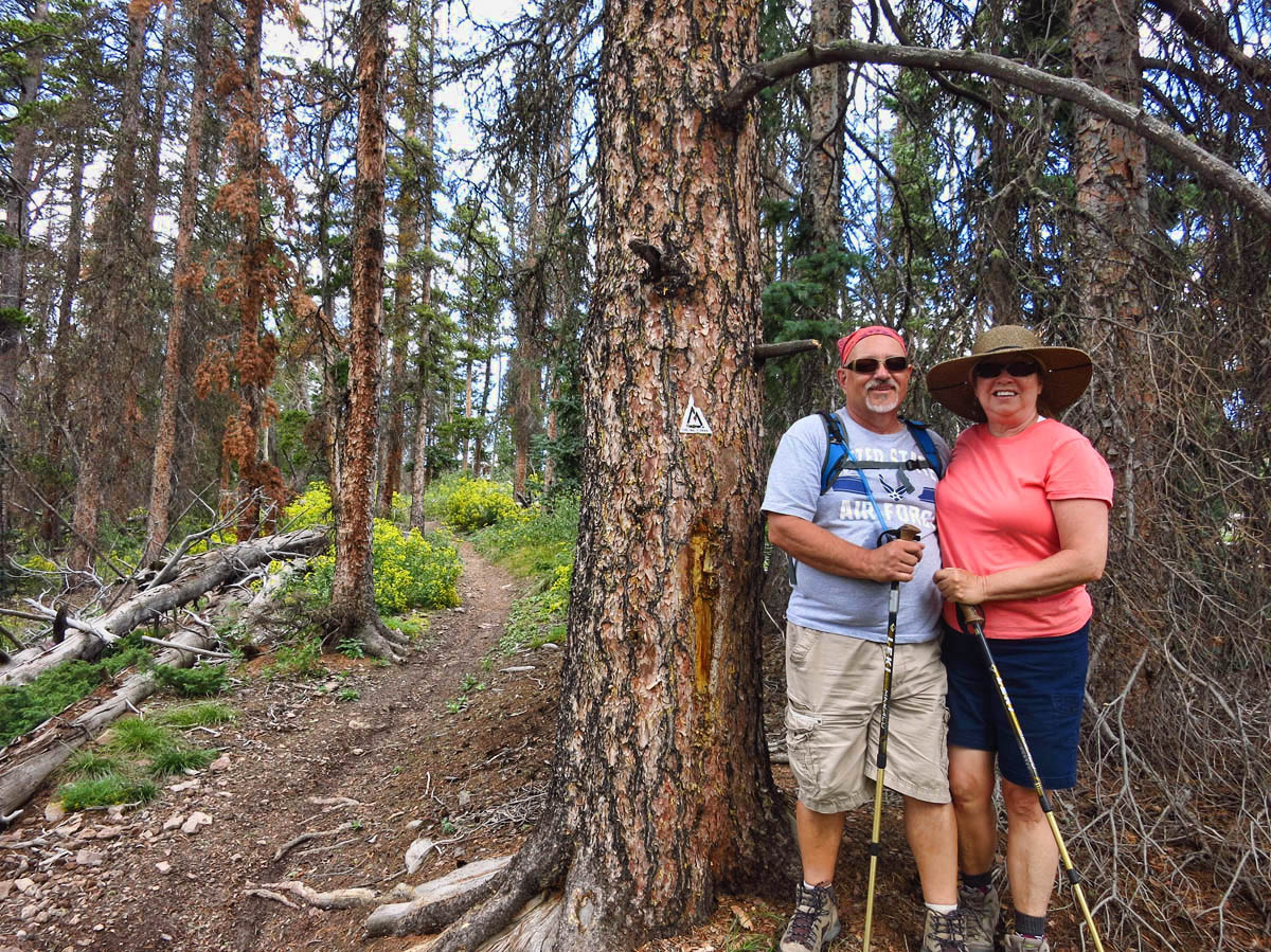Hiking the Continental Divide Trail with Chuck and Carla