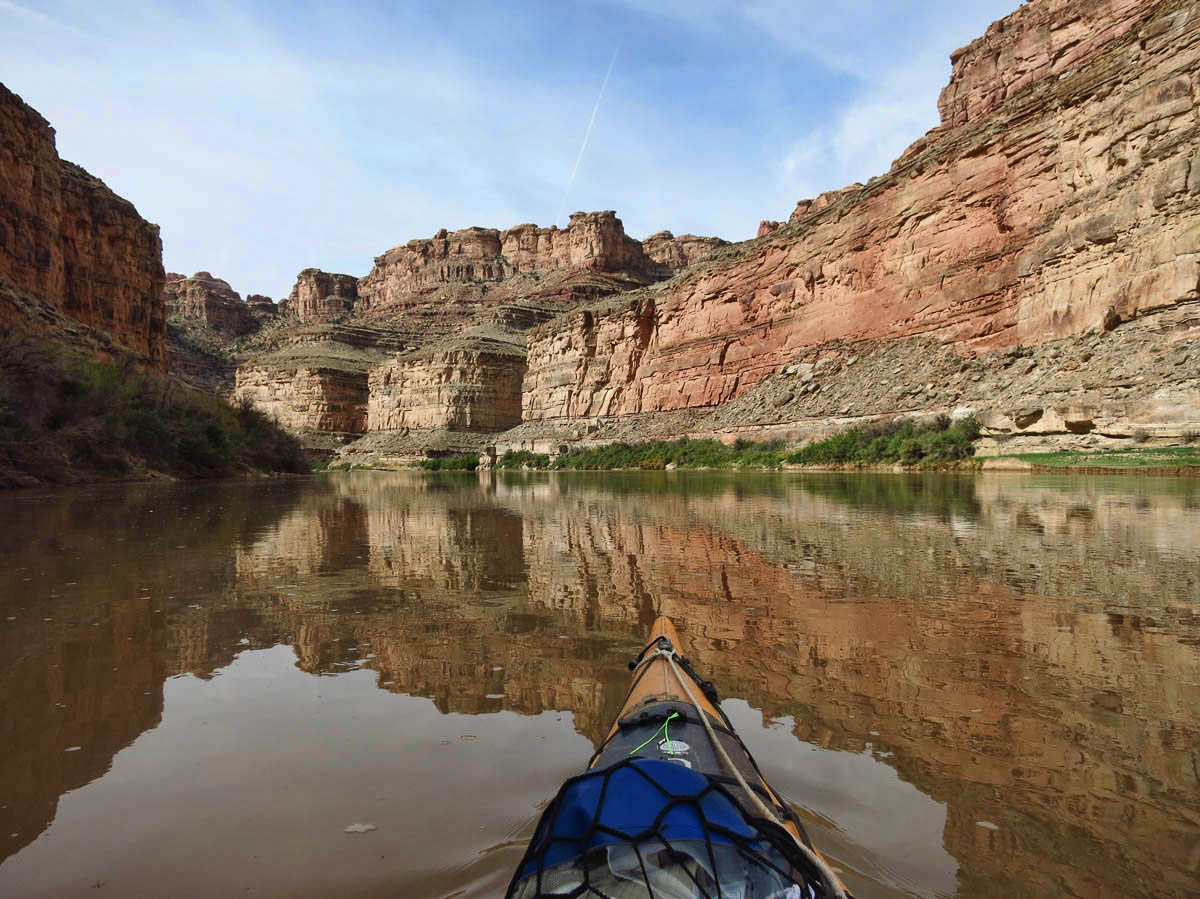 As the canyon walls get steeper, the reflections get even more compelling.