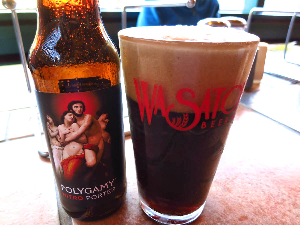 Polygamy Porter, Nitro version.