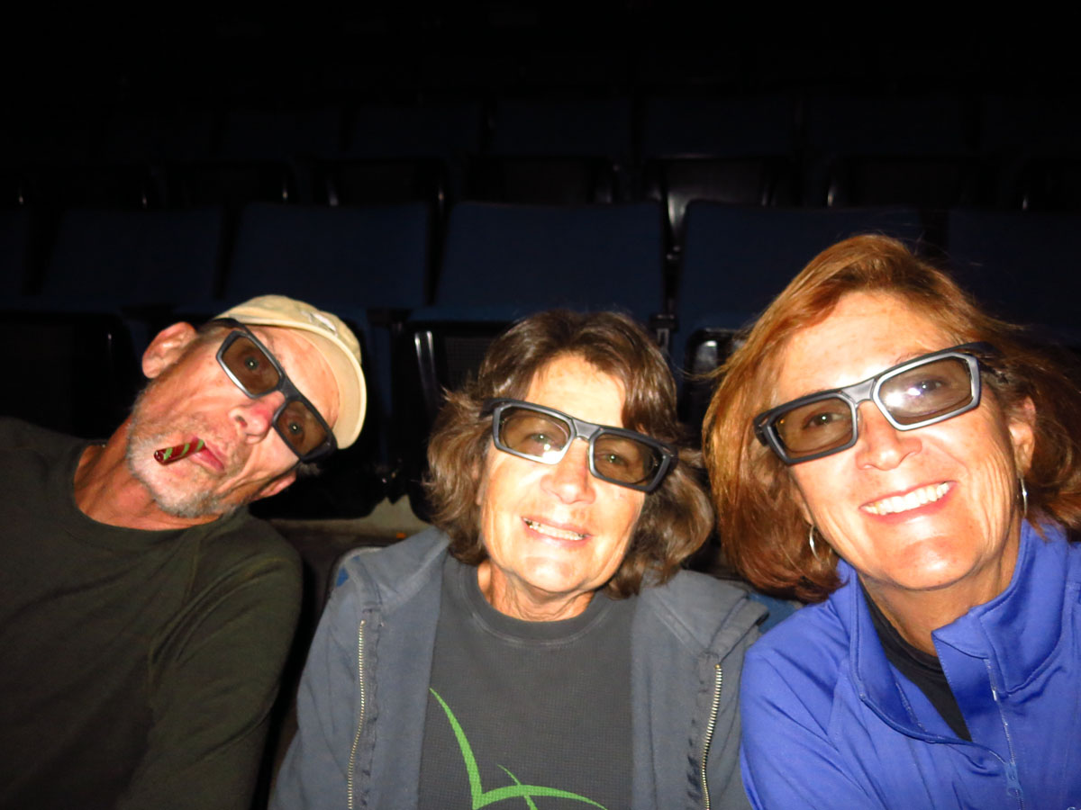 "Seeing ""The Martian"" in 3D at the Zion IMAX."