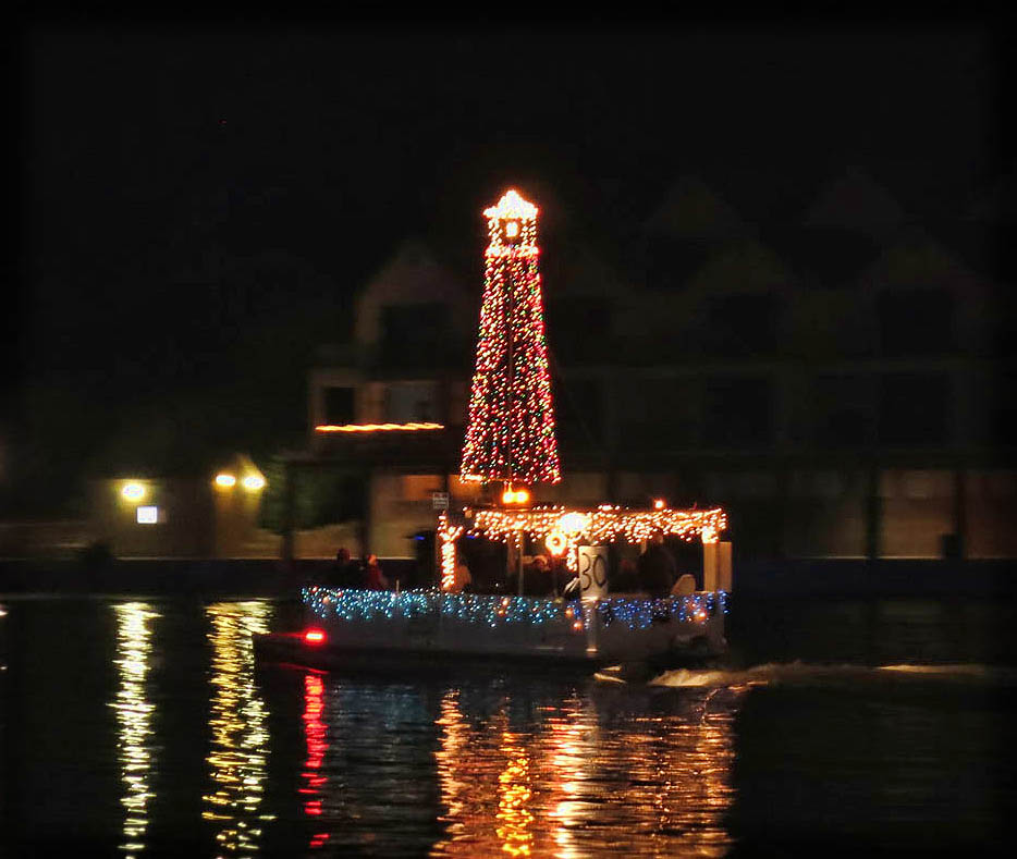 Lighthouse float is worthy of a second photo.