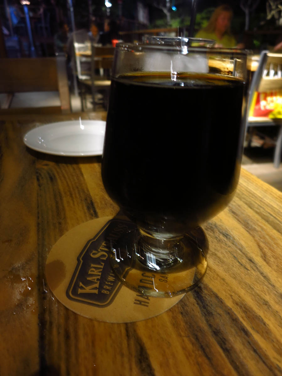 27th Anniversary Bourbon Barrel-Aged Double Chocolate Imperial Stout, perhaps the most perfect beer my lips have ever tasted!