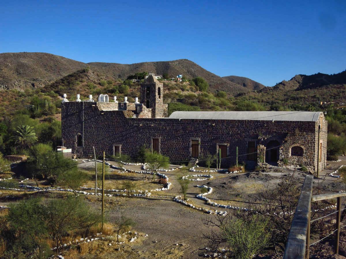 The Misión Santa Rosalía de Mulegé