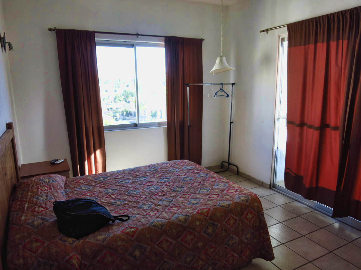 Hotel Guluarte for 400 pesos  ($23 USD) per night (laundry not included)