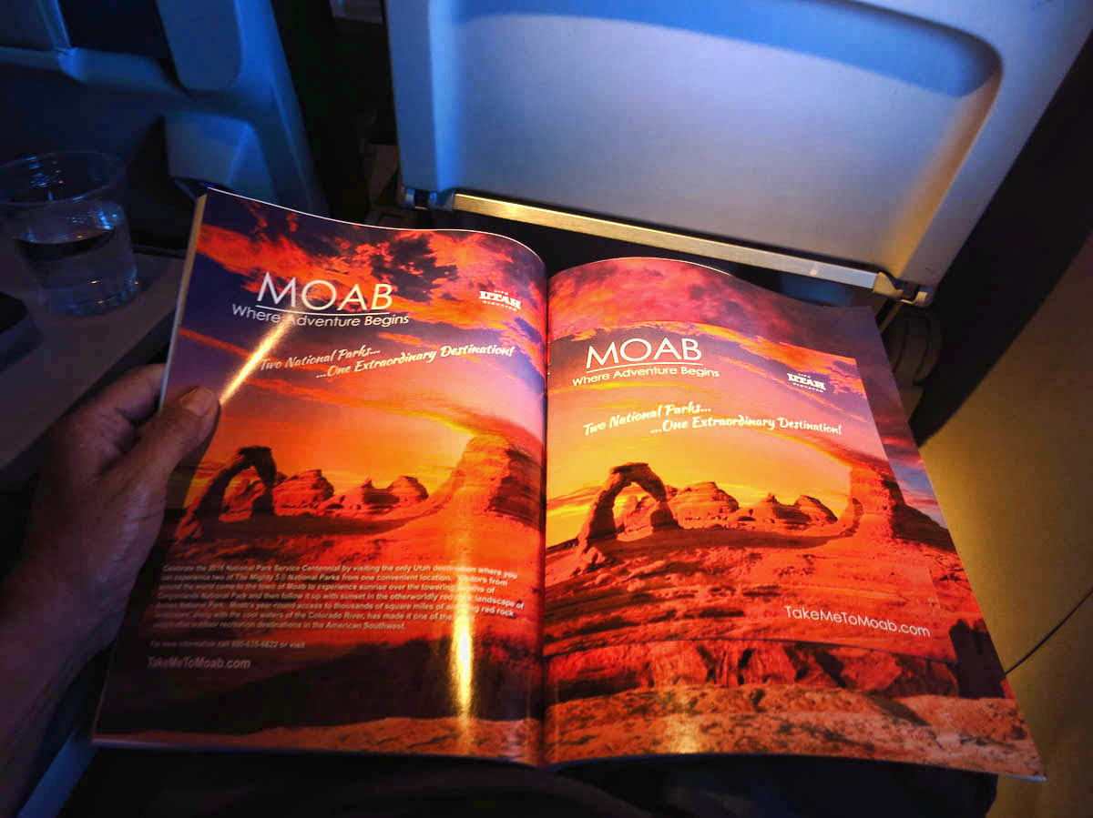 Here's a little known destination that needs some advertisement. Let's not only feature them in Delta's In Flight Magazine, but include a full color travel guide pull-out section too!