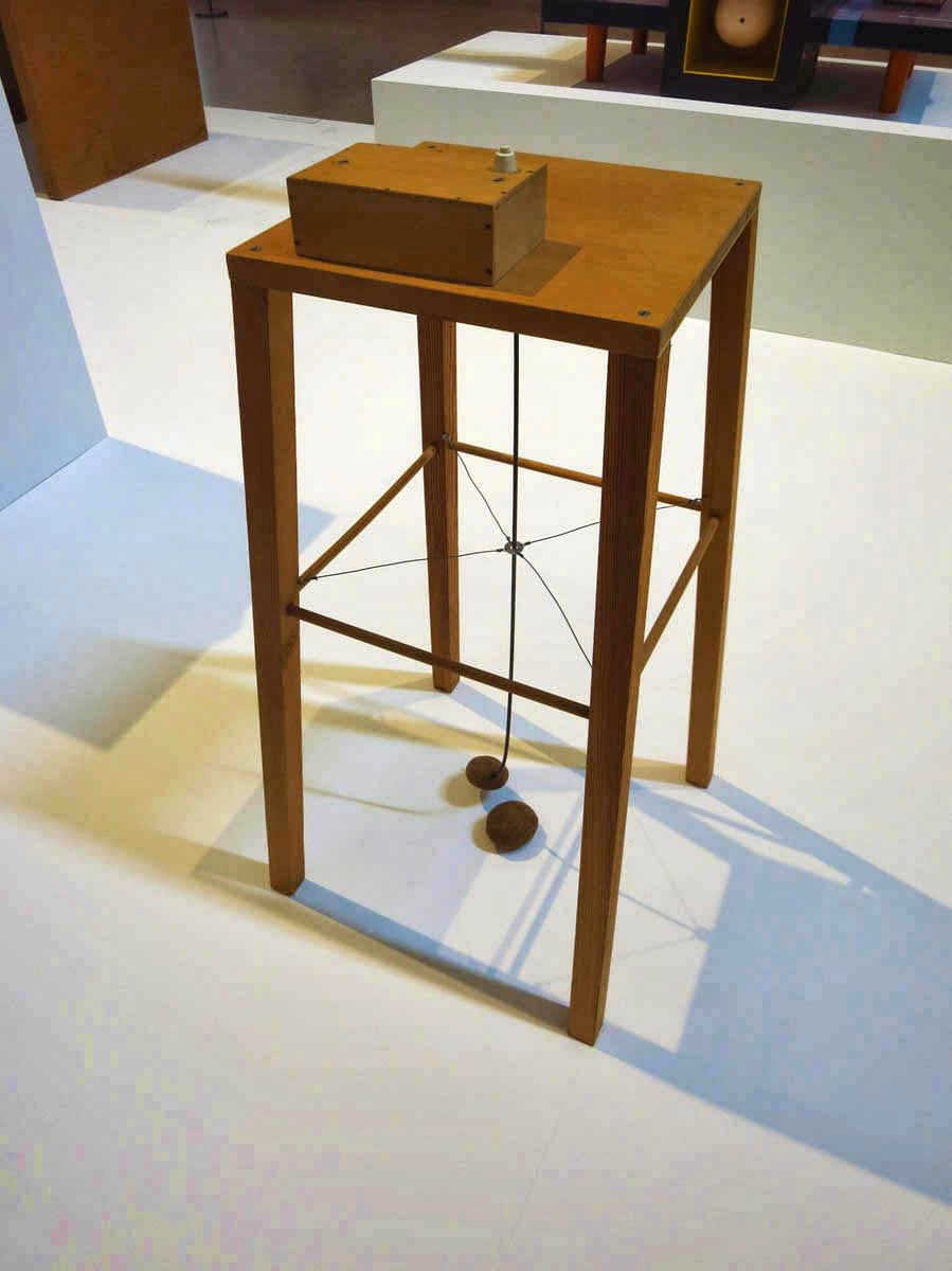 The Potato Machine in the Modern Art section.