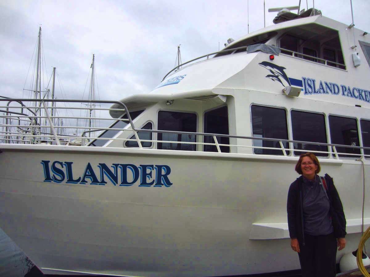 Island Packers is the concessionaire that offers transportation to the Channel Islands.