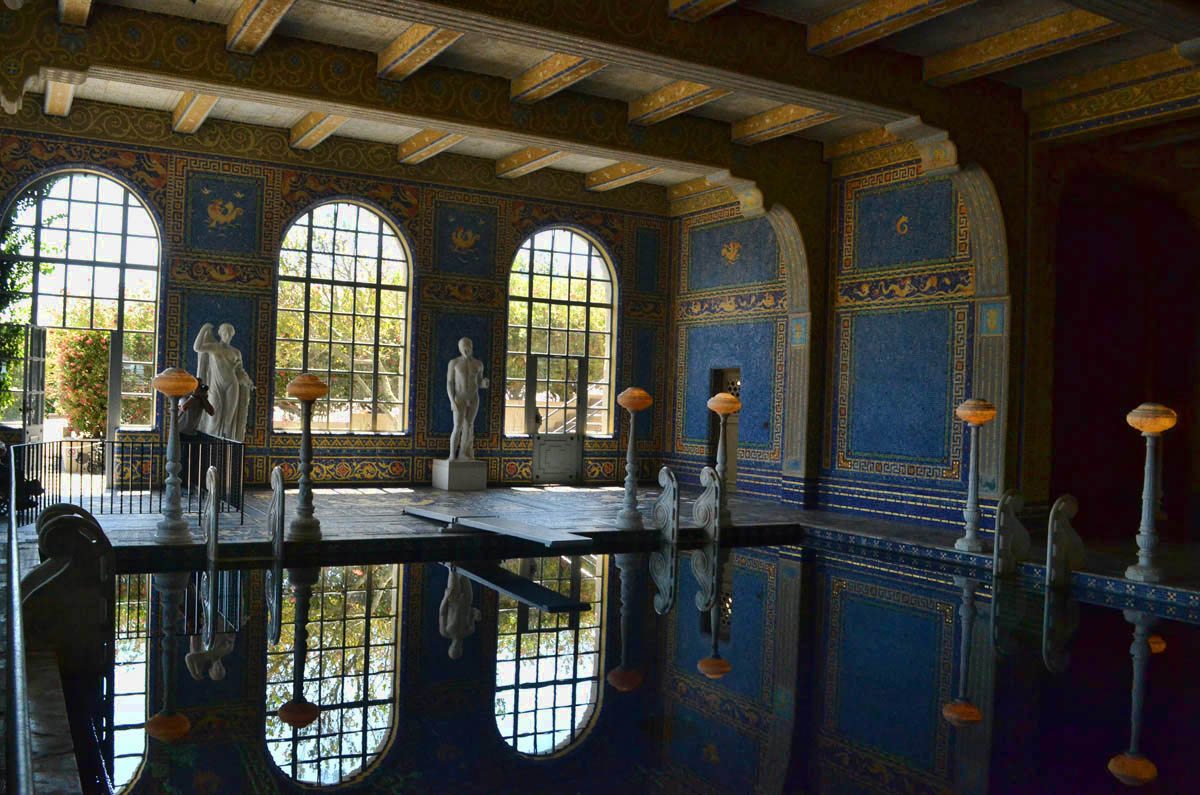 "The smaller indoor pool referred to as the ""Roman Pool"" was modeled after the baths of ancient Rome."