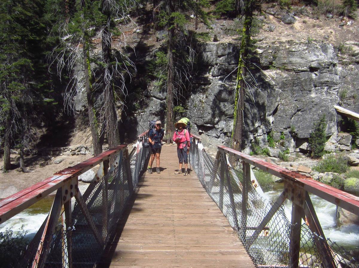 Crossing Illilouette Creek