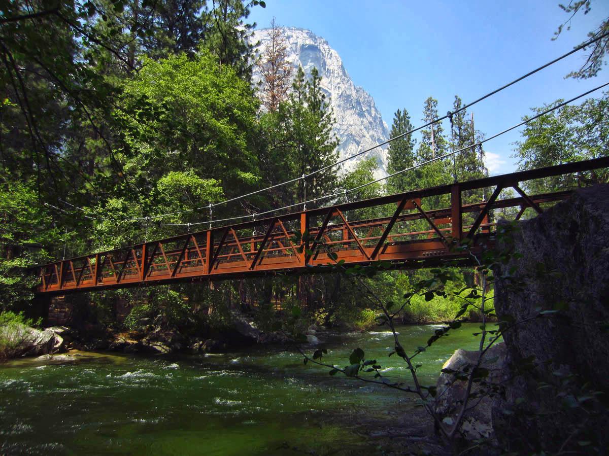 Suspension Bridge to Zumwalt Meadow