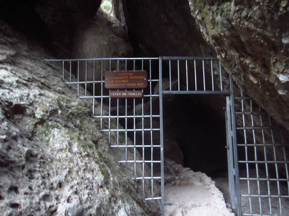 This cold cave is a great place to escape the heat!