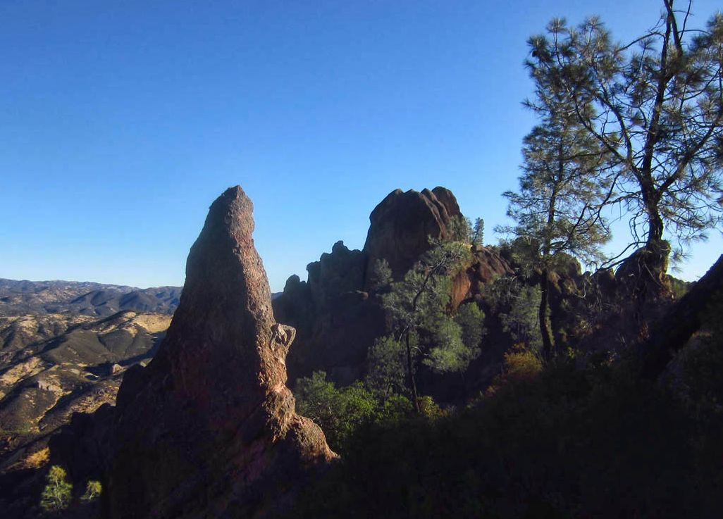 "A few ""pinnacles"" from which the park gets its name."