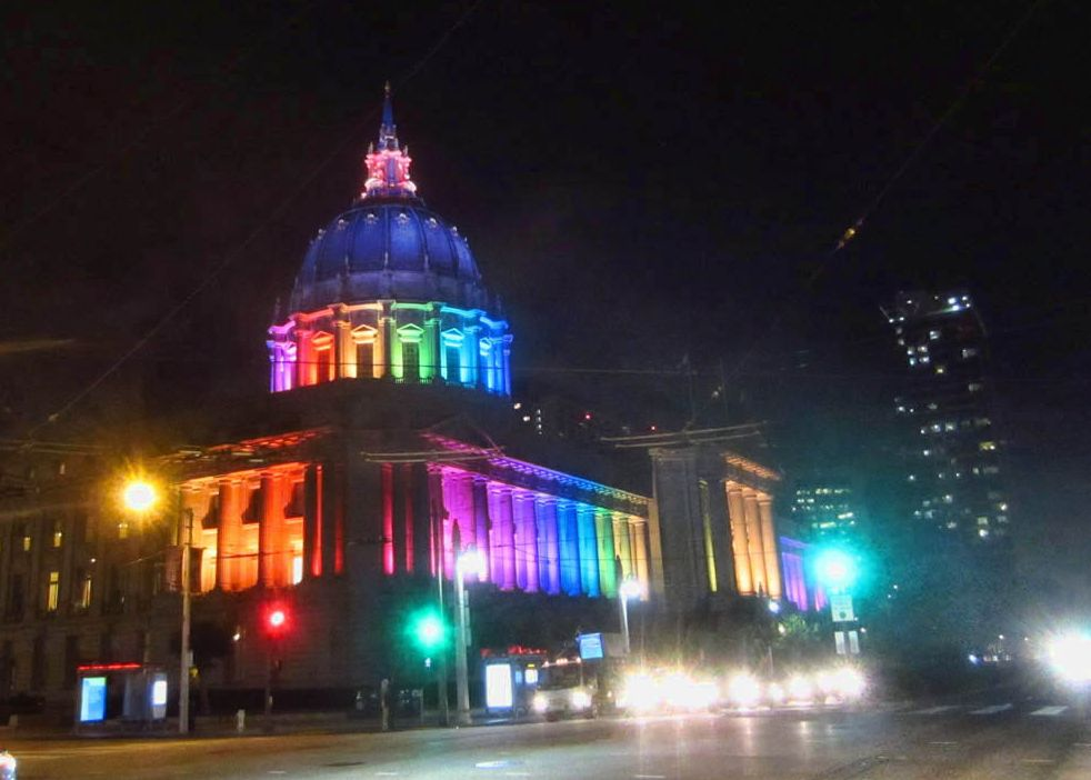 City Hall tells me I need to get out of the city before the Pride Parade!