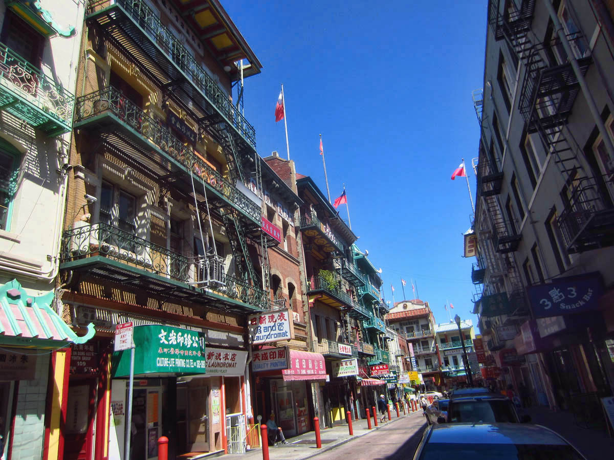 There is a lot of beautiful architecture off the side streets of Chinatown, dating back to the early 1900's.