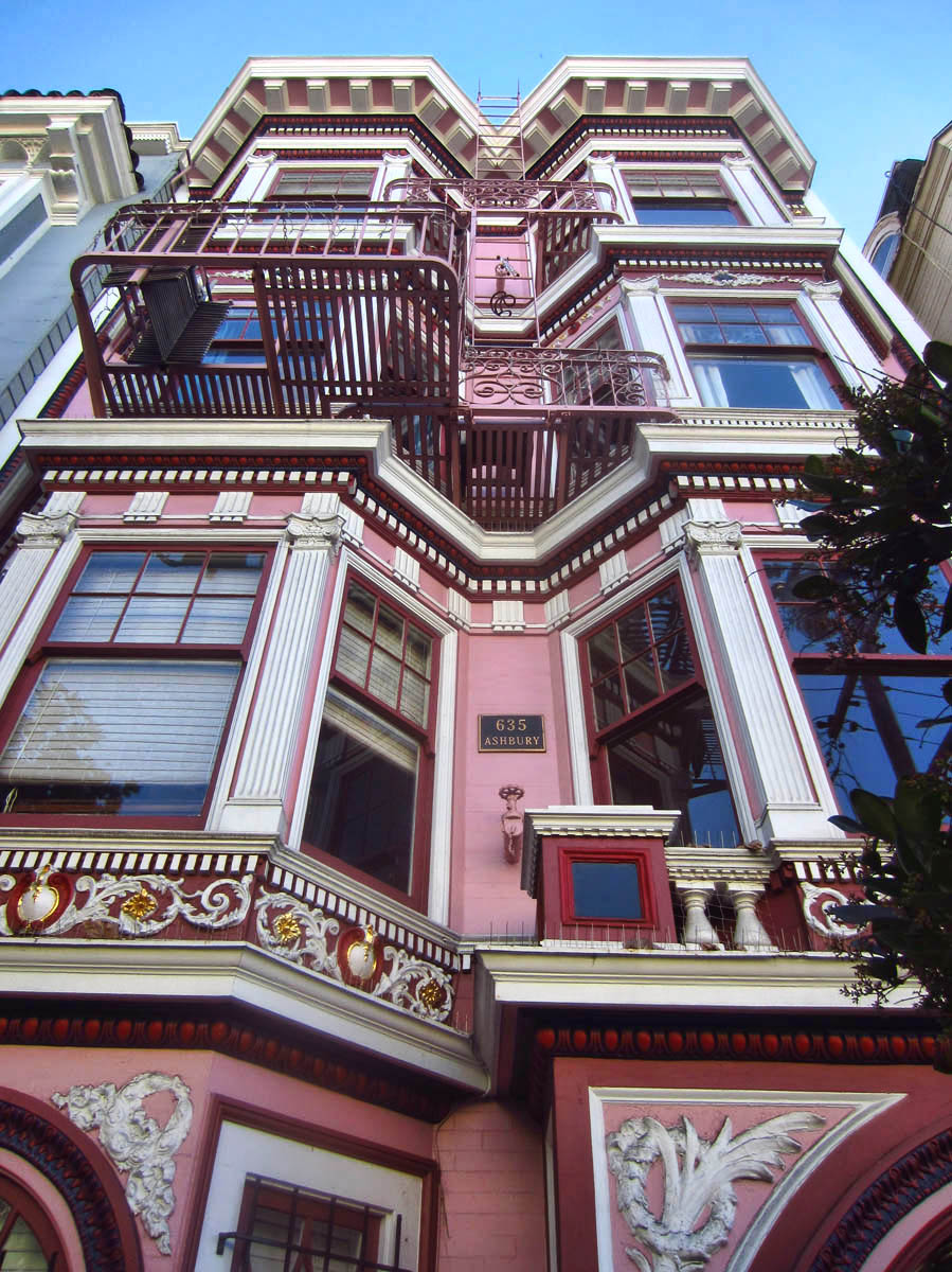 635 Ashbury, an 8,000 sq ft multi-family home where Janis Joplin lived.