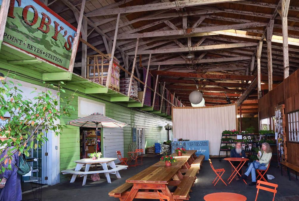 Toby's Feed Barn is the location of the Saturday Farmers Market.