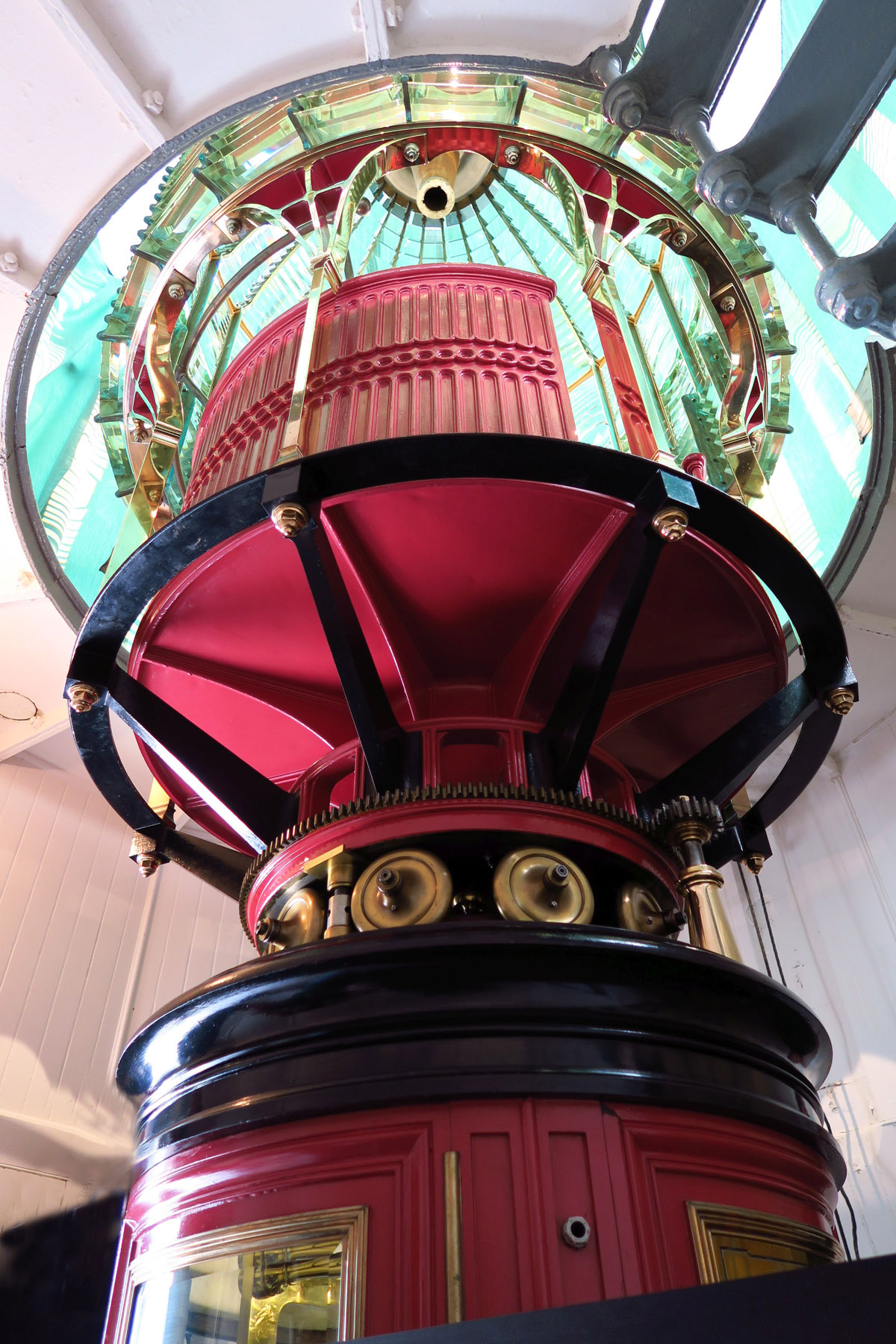 The First Order lens (largest made) was in service from 1870 to 1975.