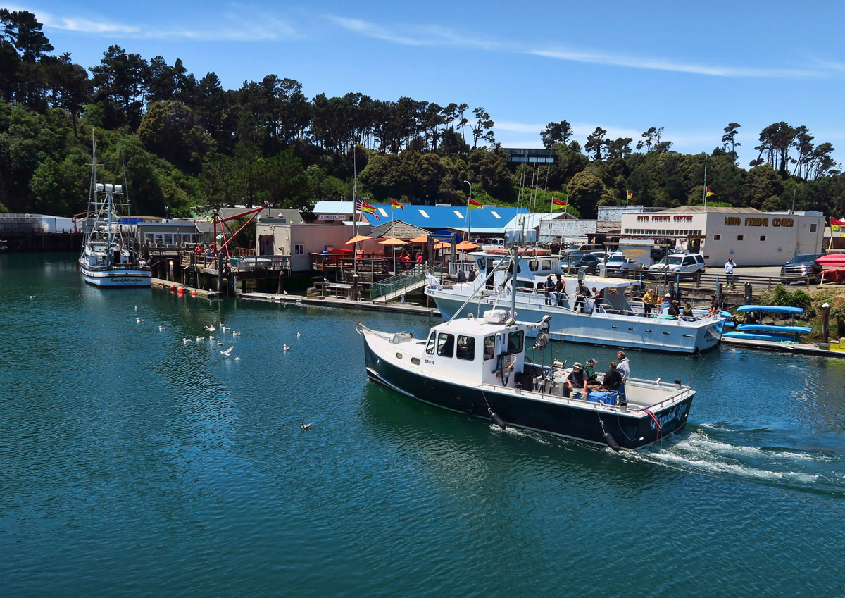 Sportsman's RV Park is located in picturesque Noyo Harbor.