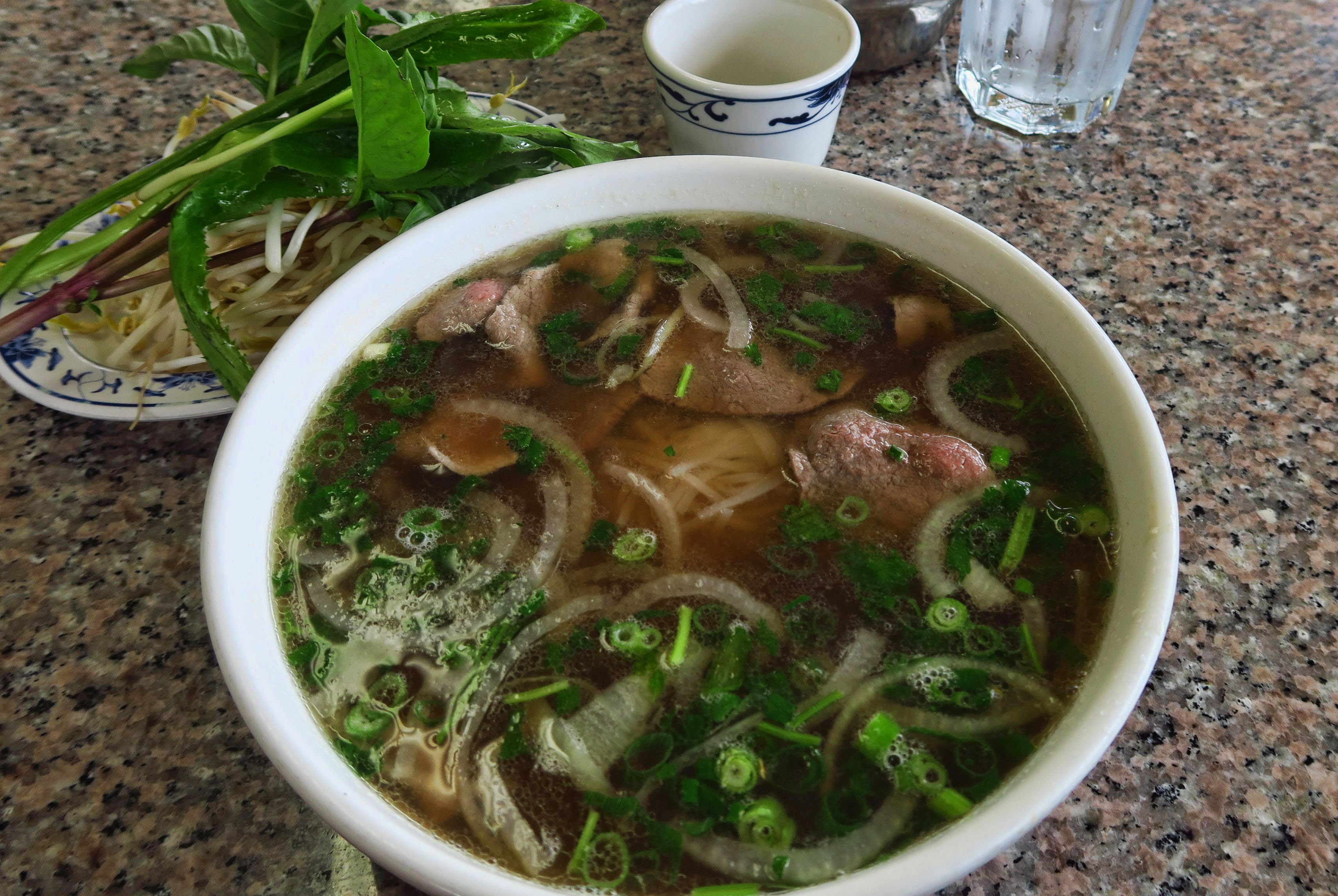 Had to get my Asian fix over a bowl of glistening Pho at Pho An Sandy.