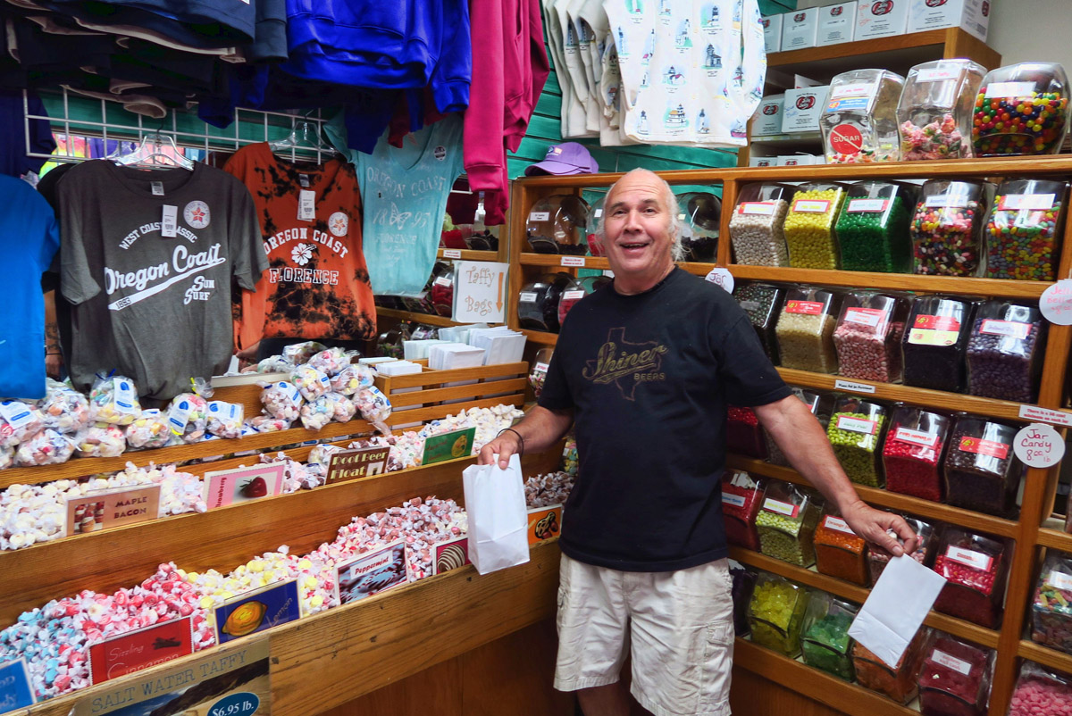 Don has a passion for salt water taffy. He's come to the right place.