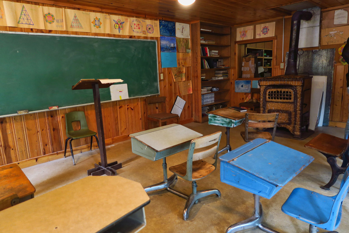 The museum is also used as a classroom for students on field trips to Stehekin.