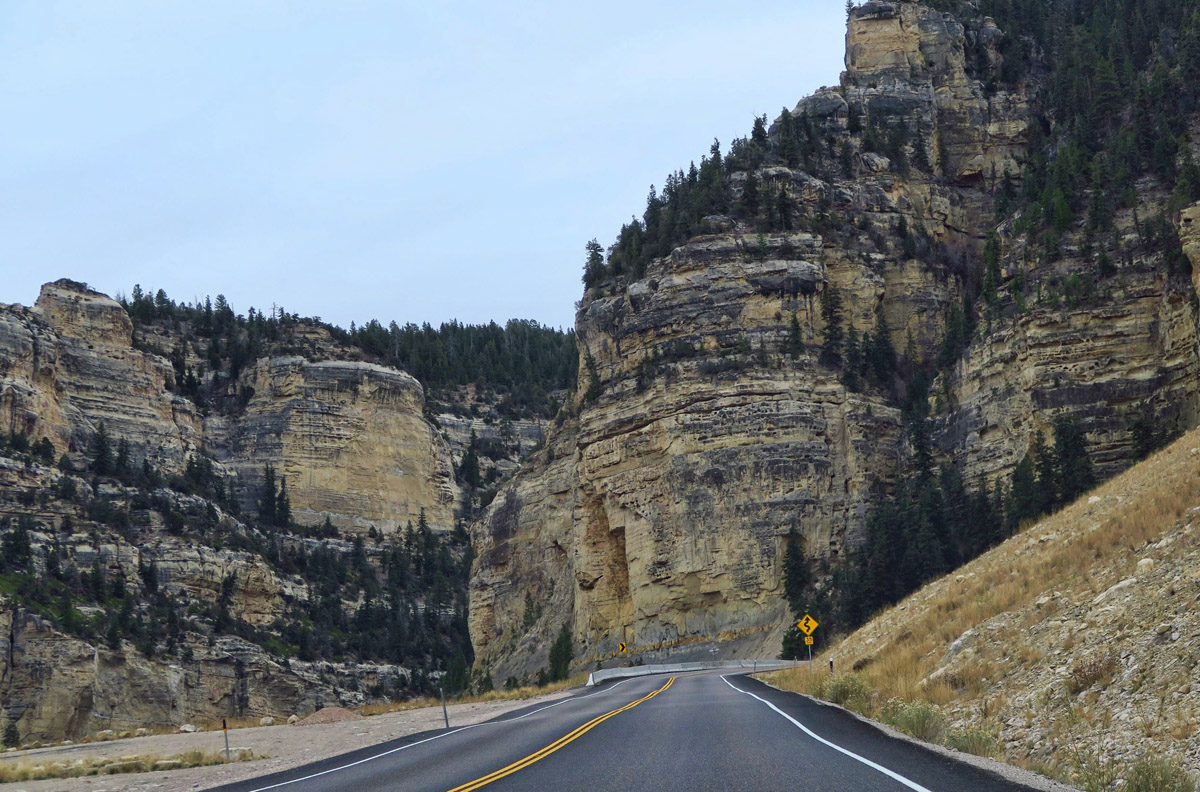 Drive through canyon on the way to Cedar Breaks NM is very scenic!